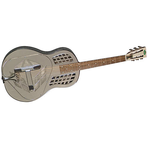 Regal RC-57 Nickel-Plated Body Tricone Guitar
