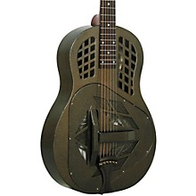 Open Box Regal RC-58 Tricone Metal Body Resonator Guitar