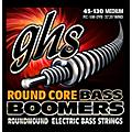 GHS RC-5MDYB Round Core Boomers Medium 5-String Electric Guitar Strings (45-130) thumbnail