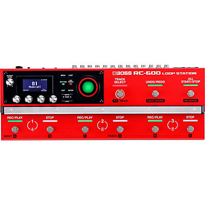BOSS RC-600 Loop Station Effects Pedal