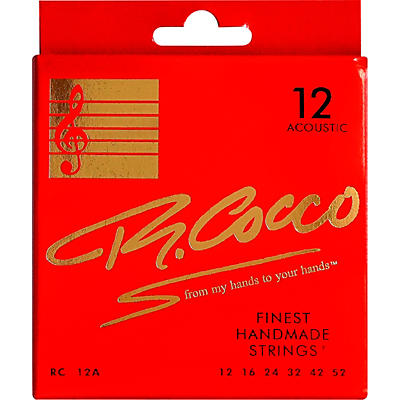 Richard Cocco RC12A Acoustic Guitar Strings