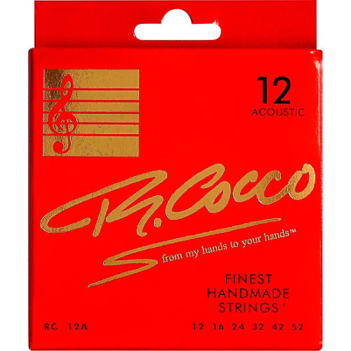 Richard Cocco RC12A Acoustic Guitar Strings