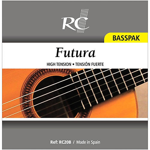 RC Strings RC20B Futura Basspak - Medium High Tension 4th, 5th and 6th Strings for Nylon String Guitar