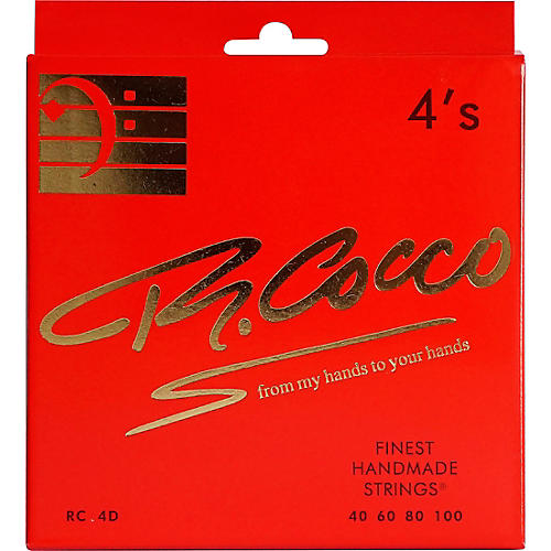Richard Cocco RC4D 4-String Electric Bass Guitar Strings
