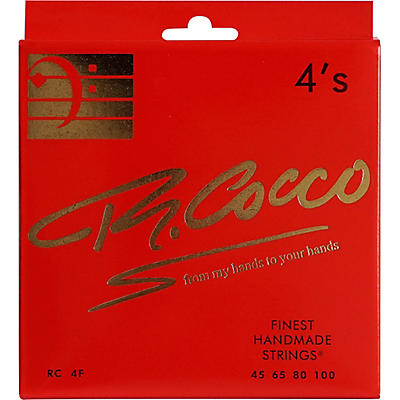 Richard Cocco RC4F 4-String Electric Bass Guitar Strings