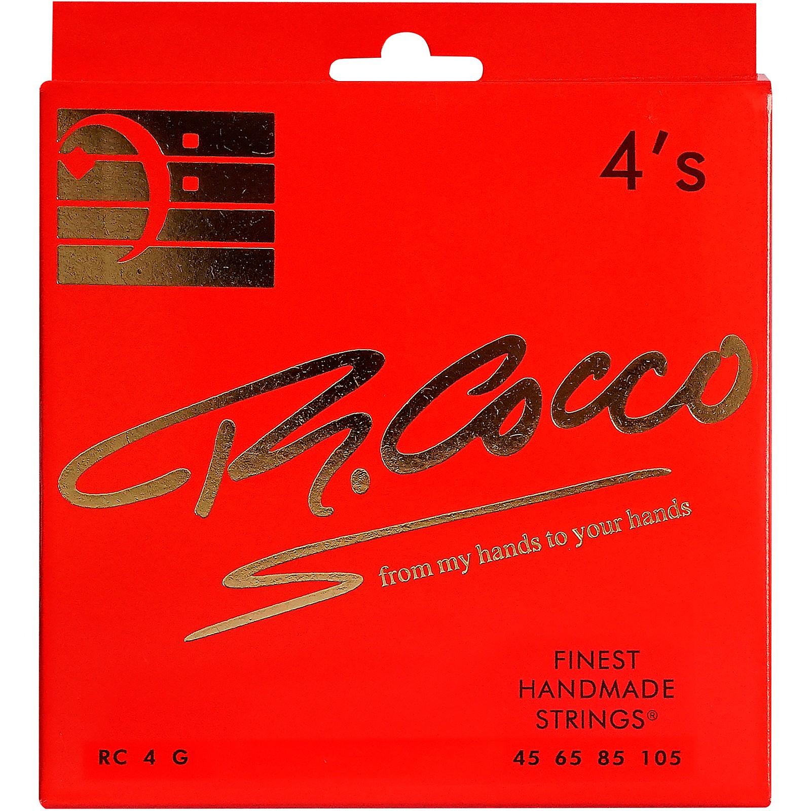 Richard Cocco RC4G 4-String Electric Bass Guitar Strings
