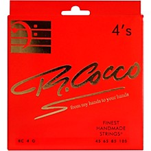 Richard Cocco RC4G 4-String Electric Bass Guitar Strings