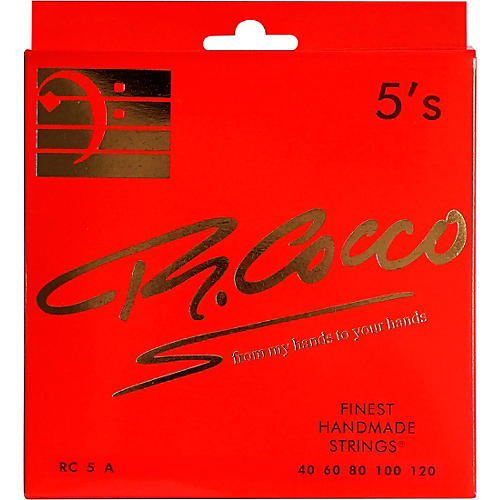Richard Cocco RC5A 5-String Electric Bass Guitar Strings