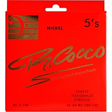 Richard Cocco RC5CN 5-String Nickel Electric Bass Guitar Strings