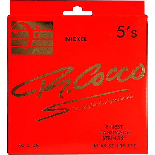 Richard Cocco RC5CN 5-String Nickel Electric Bass Guitar Strings