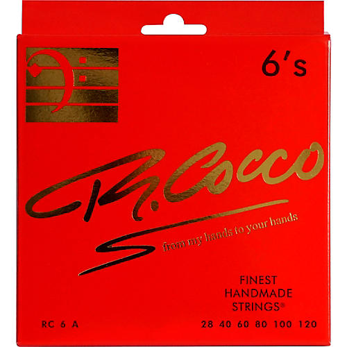 Richard Cocco RC6A 6-String Electric Bass Guitar Strings