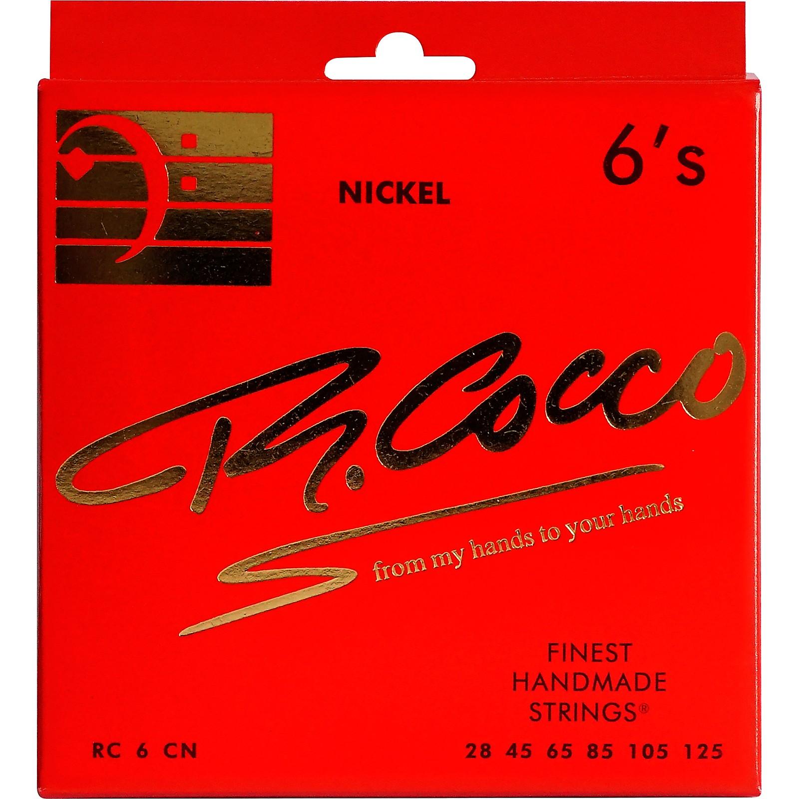 Richard Cocco RC6CN 6-String Nickel Electric Bass Guitar Strings