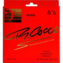Richard Cocco RC6CN 6-String Nickel Electric Bass Guitar Strings