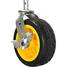 "Rock N Roller RCSTR8X3 8"" x 3"" Ground Glider Wide Caster Upgrade for R12 Carts - 2-Pack"