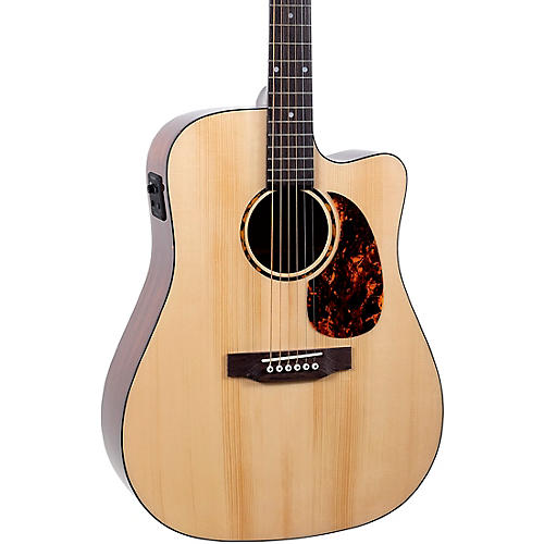 Recording King RD-G6-CFE5 Solid Top Dreadnought Cutaway Acoustic-Electric Guitar Condition 1 - Mint Natural