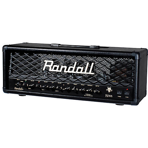 Randall RD100H Diavlo 100W Tube Guitar Head Condition 2 - Blemished Black 194744184666