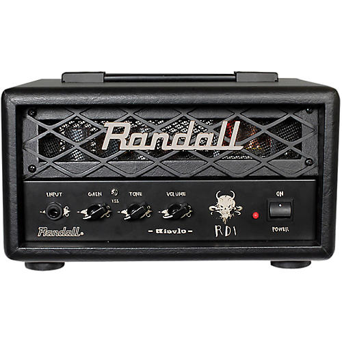 Randall RD1H Diavlo 1W Tube Guitar Head Condition 1 - Mint Black