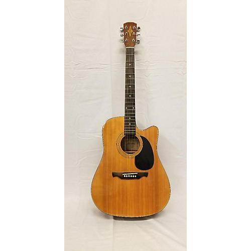 Alvarez RD20CU Acoustic Electric Guitar Natural