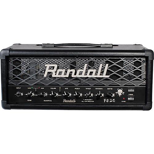 Randall RD20H Diavlo 20W Tube Guitar Head Condition 1 - Mint Black