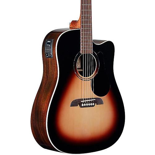 alvarez rd280cesb dreadnought acoustic electric guitar sunburst rh musiciansfriend com 2 Pickup Guitar Wiring Fender Electric Guitar Wiring Diagrams