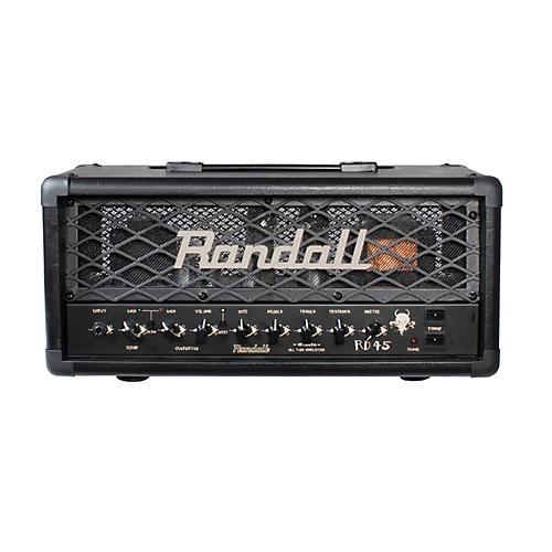 Randall RD45H Diavlo 45W Tube Guitar Head Condition 1 - Mint Black