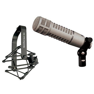 Electro-Voice RE20 Dynamic Cardioid Microphone with 309-A Shock Mount