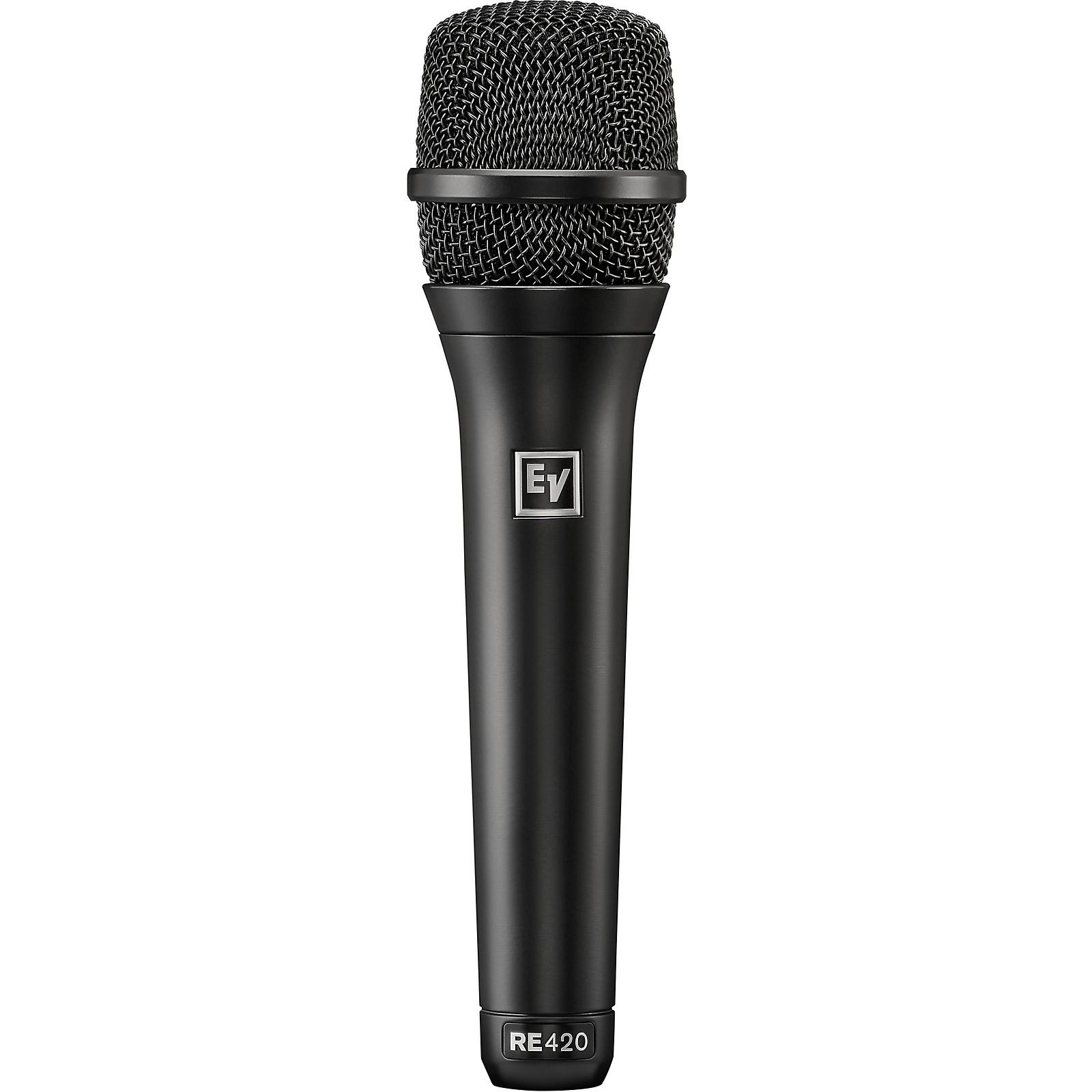 Electro-Voice RE420 Premium Condenser Cardioid Vocal Microphones