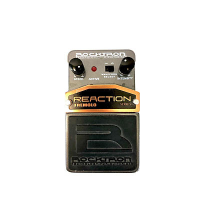 Rocktron REACTION TREMOLO Effect Pedal