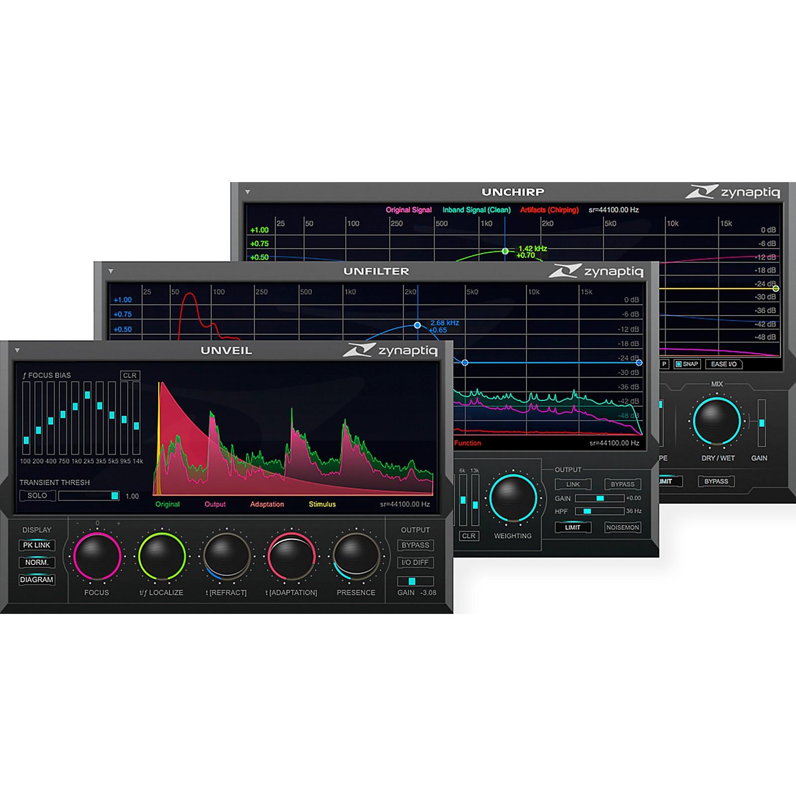 Zynaptiq REPAIR Bundle: Audio Restoration & Enhancement Plug-ins