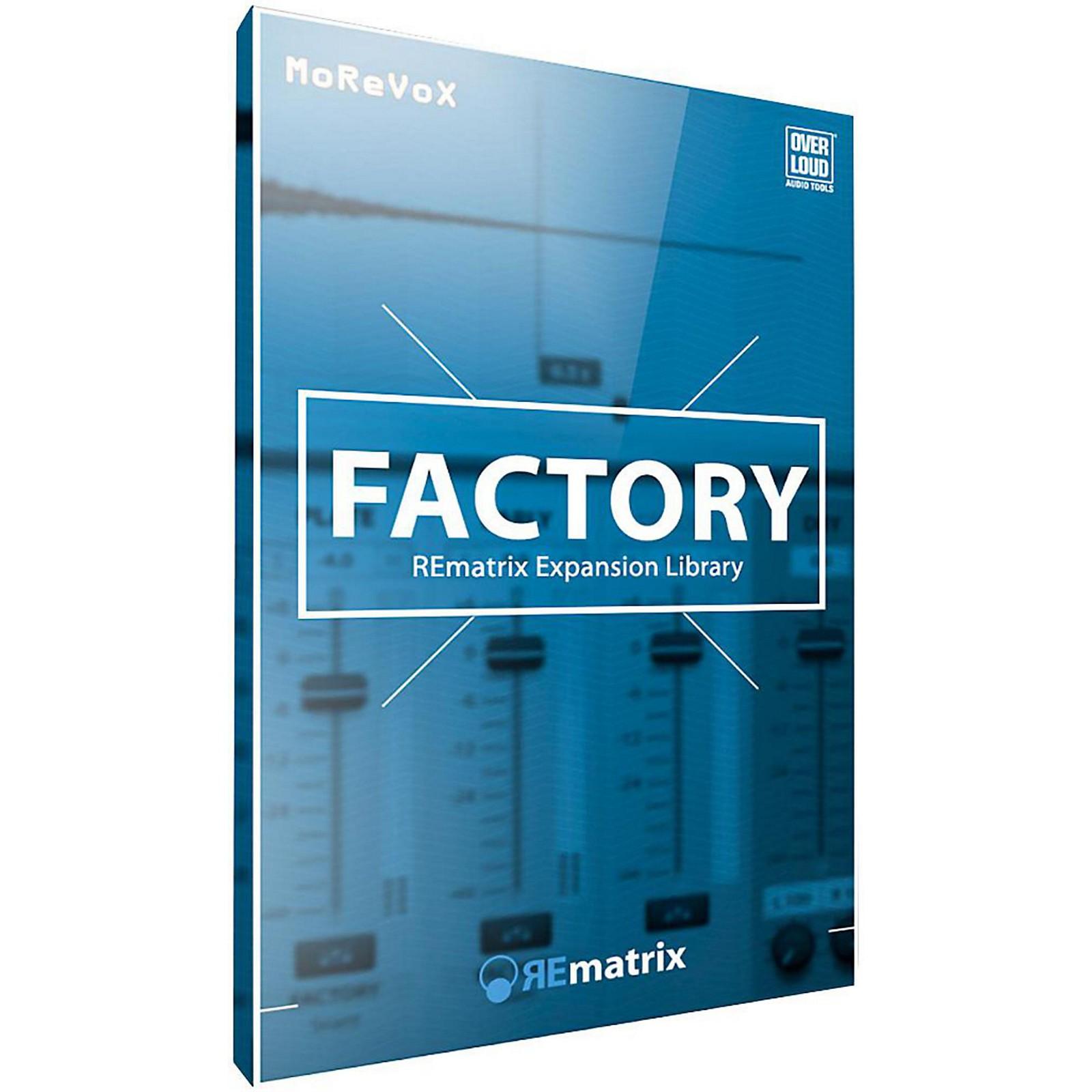 Overloud REmatrix Factory IR Library