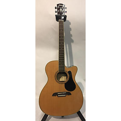 Alvarez RF27CE OM/Folk Acoustic Electric Guitar