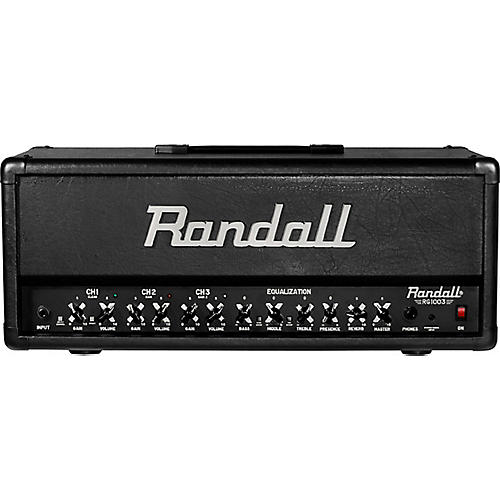 Randall RG1003H 100W Solid State Guitar Head Condition 1 - Mint Black