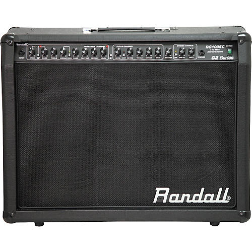 randall rg100sc g2 2x12 stereo guitar combo amplifier musician 39 s friend. Black Bedroom Furniture Sets. Home Design Ideas