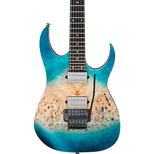 Ibanez RG1120PBZ RG Premium Electric Guitar Caribbean Islet Flat