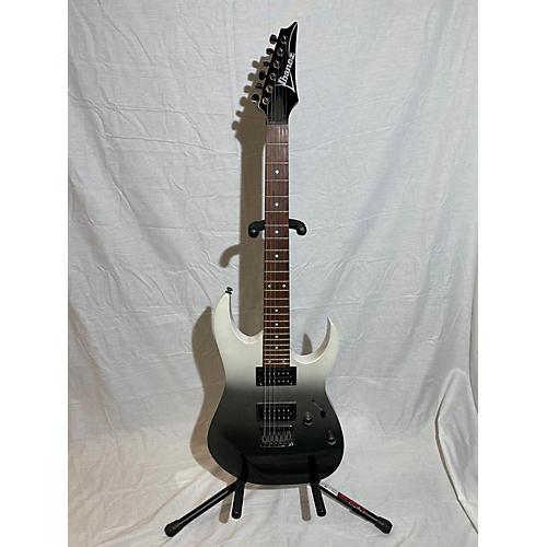 Ibanez RG421 Solid Body Electric Guitar pearl black fade metallic