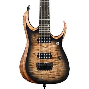 ibanez rgd71al axion label 7 string electric guitar antique brown stained burst musician 39 s friend. Black Bedroom Furniture Sets. Home Design Ideas