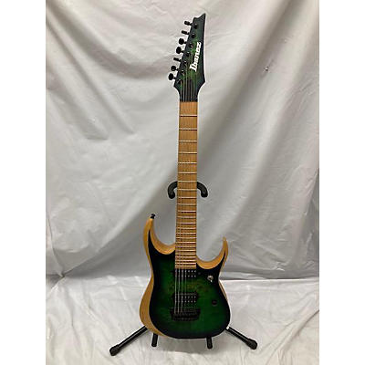 Ibanez RGDIX7 7 Str Trans Green Solid Body Electric Guitar
