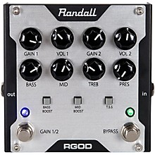 Open BoxRandall RGOD Guitar Preamp Pedal
