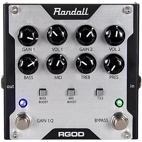 Randall RGOD Guitar Preamp Pedal