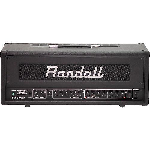 Randall RH200SC/G2 200W Stereo Guitar Amp Head