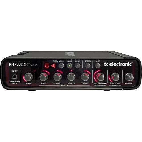 tc electronic rh750 750w bass amp head musician 39 s friend. Black Bedroom Furniture Sets. Home Design Ideas