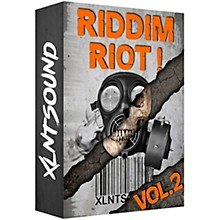 XLNTSOUND RIDDIM RIOT V2 / 255 DUBSTEP DRUM SAMPLES