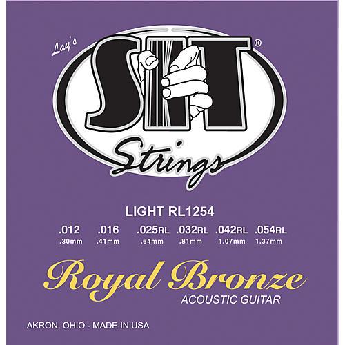 SIT Strings RL1254 Light Royal Bronze Acoustic Guitar Strings