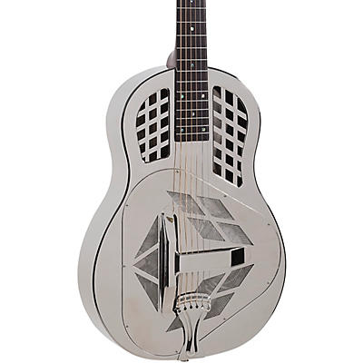 Recording King RM-991-S Tricone Metal Body Resonator Guitar With Roundneck