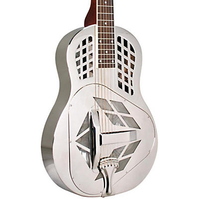 Recording King RM-991-S Tricone Metal Body Resonator Guitar with Squareneck
