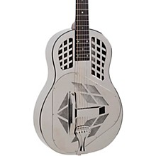 Open Box Recording King RM-991 Tricone Resonator Guitar with Roundneck