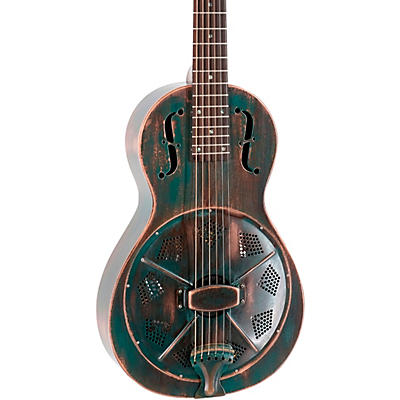 Recording King RM-993 Metal Body Parlor Resonator Guitar