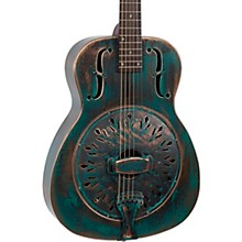 Recording King RM-997-VG Swamp Dog Metal Body Resonator Style-0