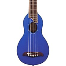 RO10 Rover Travel Acoustic Guitar Transparent Blue