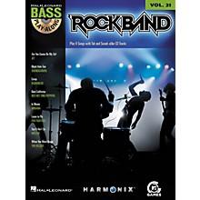 Hal Leonard ROCK BAND - BASS PLAY-ALONG (MODERN ROCK EDITION) VOLUME 21 BOOK/CD